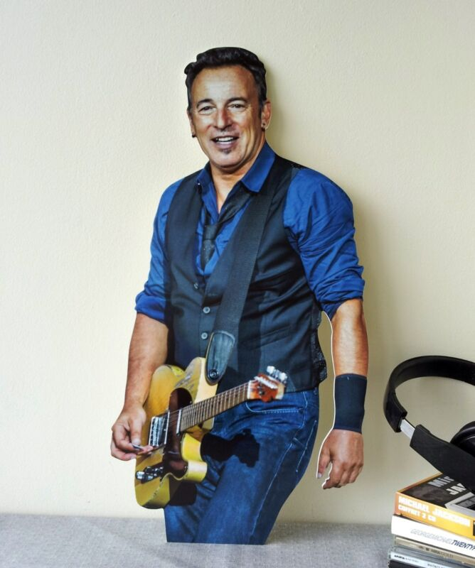"""Bruce Springsteen Display Stand 23"""" Standee Figure NEW High Hopes"""