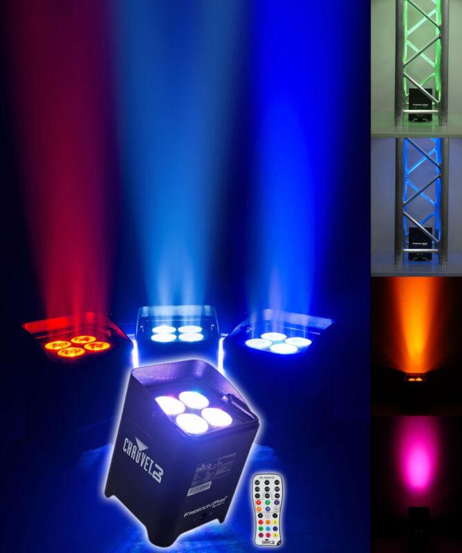 Chauvet DJ Freedom Par Quad 4 RGBA Wireless Rechargeable Wash Light Uplight