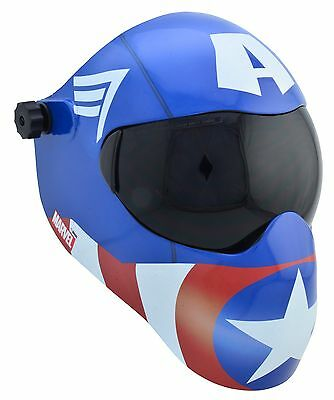 New Save Phace Efp-b Series Welding Helmet 10 Clear - Marvel Captain America