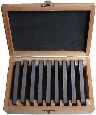 Parallelunterlagen 18 Stück (10-42mm) DIN8168 100mm NEU