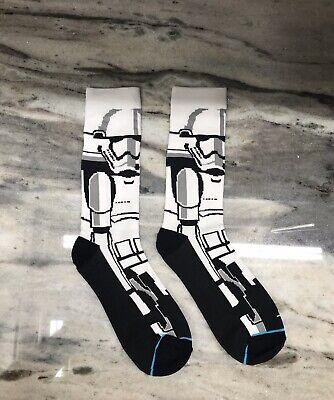 Star Wars Storm Trooper Socks - One Size - USA SHIPPING