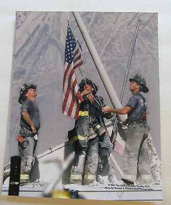 Firefighters 911 September 11, 2001 Licensed Photo World Trade Center