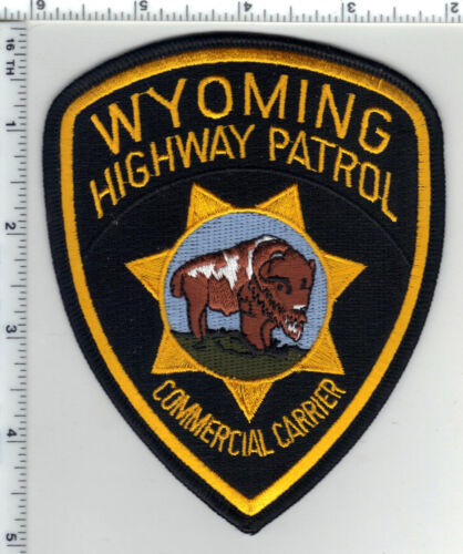 Highway Patrol (Wyoming)1st Issue  Commercial Carrier Shoulder Patch