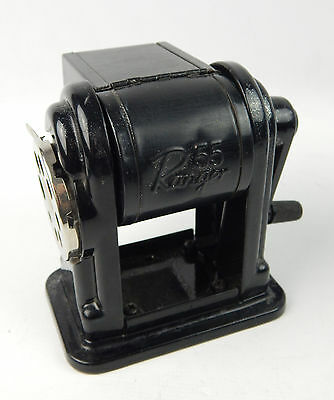 X-acto Ranger 55 Manual Pencil Sharpener Black Pre-owned Working