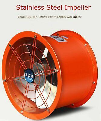 14 Axial Fan Exhaust Flow Fan 220v 250w Factory Tool Durable Us