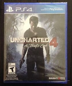 Uncharted 4.    A Thief's End.