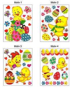 ... -Decorazione-Finestre-Adesivo-Da-Parete-Adesivi-Pasqua-Primavera-A3