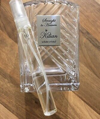 By Kilian Straight To Heaven White Crystal 10 Ml glass spray Decant