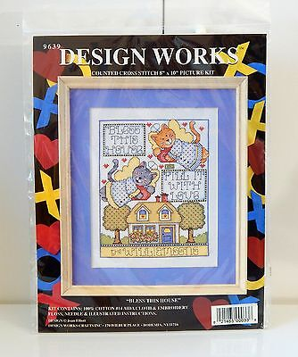 Design Works BLESS THIS HOUSE Counted Cross Stitch Kit - New - $15.99