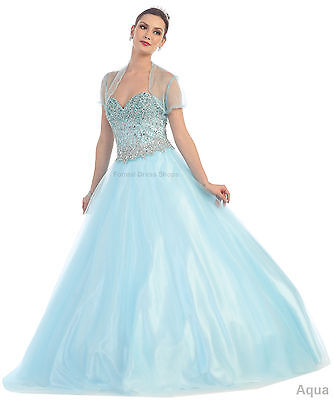 MARDI GRAS DEBUTANTE DRESS PROM QUEEN DANCE BRIDAL GOWN FORMAL PAGEANT SWEET 16  (Mardi Gras Ball Gowns)