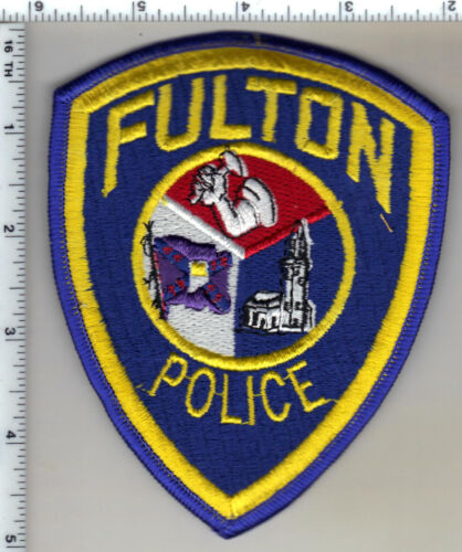 Fulton Police (Missouri)  Shoulder Patch  from 1992