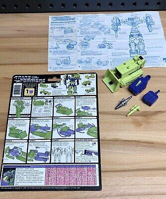Transformers Original G1 Constructicon Bonecrusher,Devastator - Read,