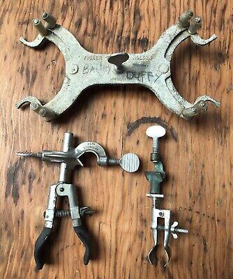 Vintage Fisher Castaloy Burette Holder 1617-1 2 Lab Clamps