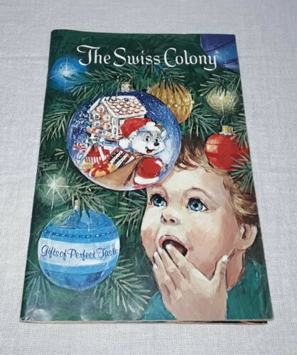 1980 SWISS COLONY CHRISTMAS CATALOG