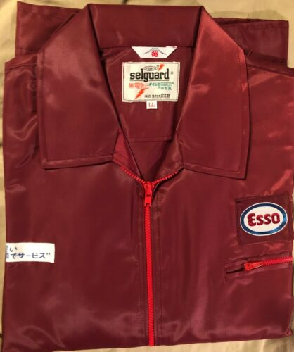 UNUSED ESSO~EXXON JAPANESE GAS OIL SERVICE INDUSTRY JACKET