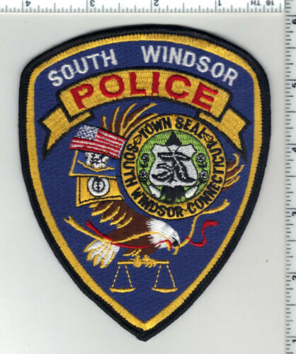 South Windsor Police (Connecticut) 3rd Issue Shoulder Patch