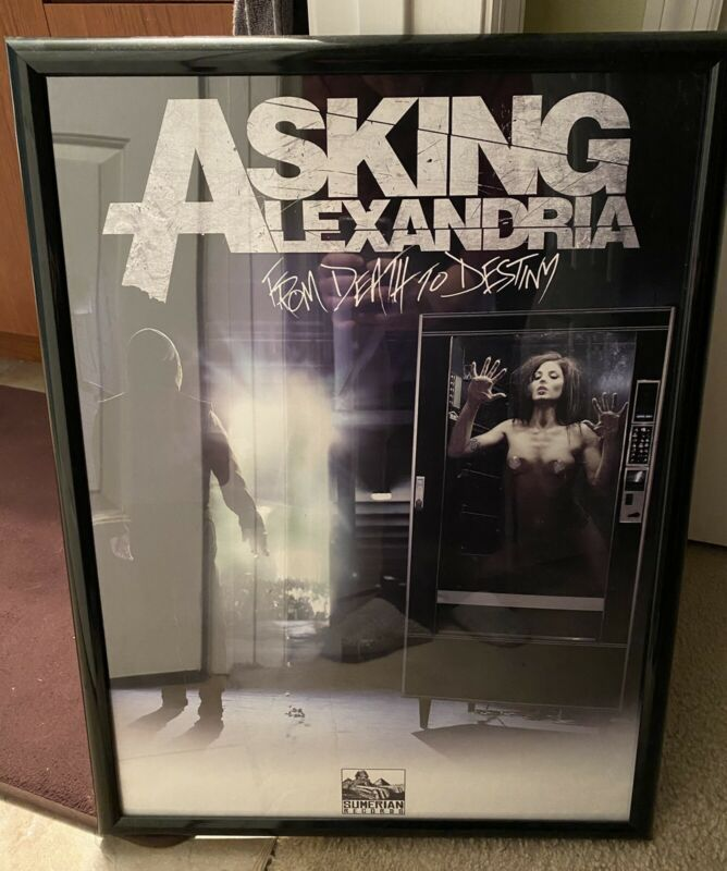 Asking Alexandria From Death To Destiny Ltd Ed Poster