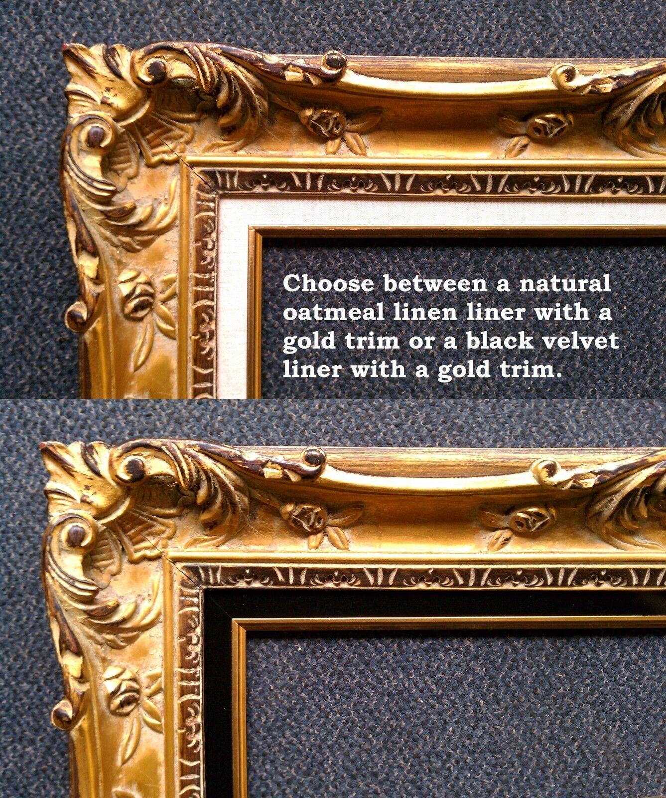 antique distressed bronze picture frame,vintage frame,custom picture frames