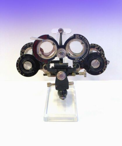 Vintage Phoroptor - Approx. 1927 Model - American Optical - Comes with Stand