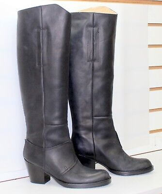 Acne Studios Tall Pistol Boots Black (Size:7) Made in Italy