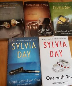 Crossfire Series by Sylvia Day - 5 books