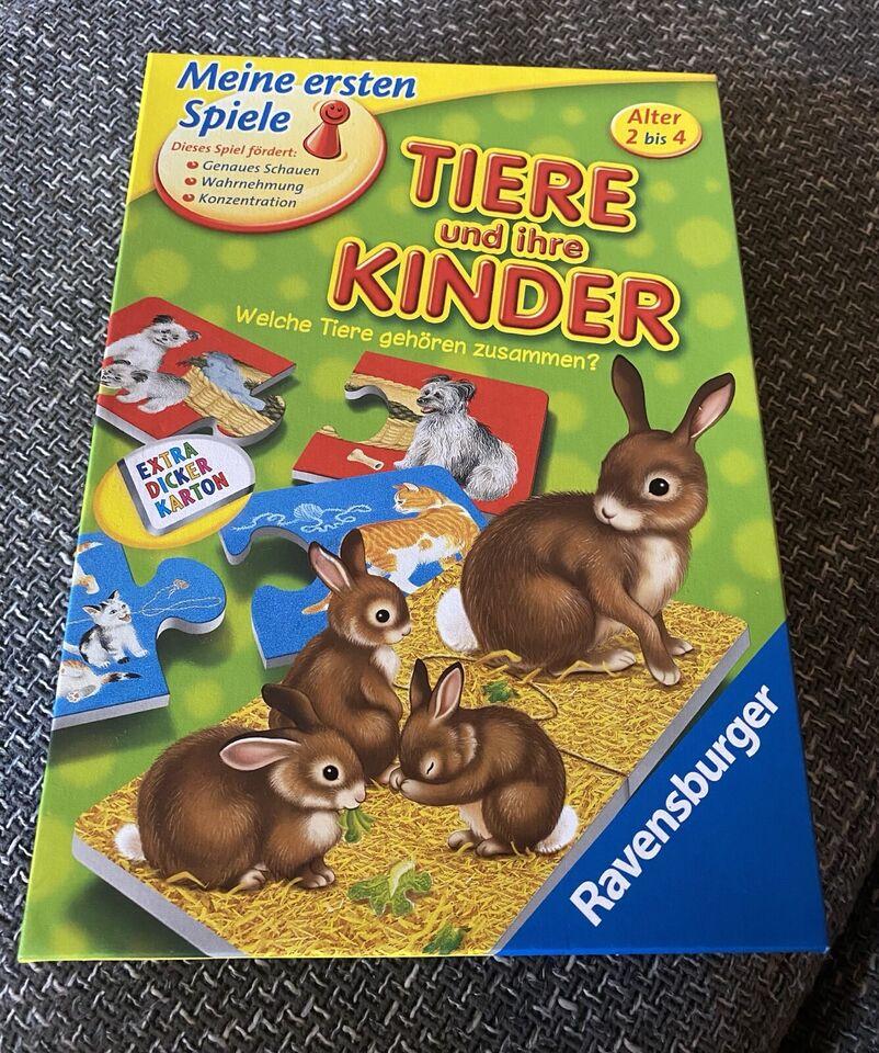 Tiere und ihre Kinder Ravensburger in Schiffweiler