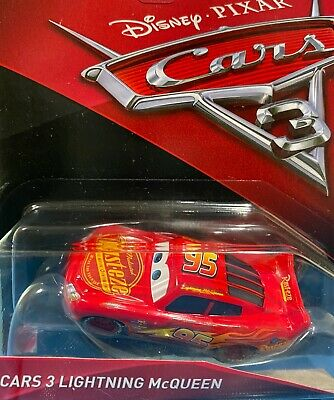 "DISNEY PIXAR CARS 3  ""LIGHTNING MCQUEEN"" NEW IN PACKAGE, SHIP WORLDWIDE"