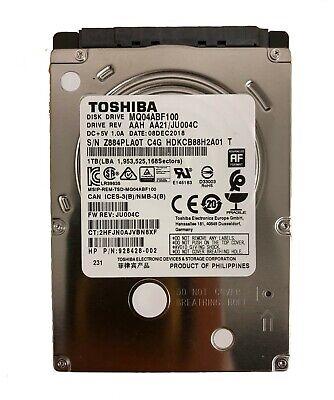 Toshiba Hdd - New Toshiba MQ04ABF100 1TB 5400RPM SATA 7mm 2.5