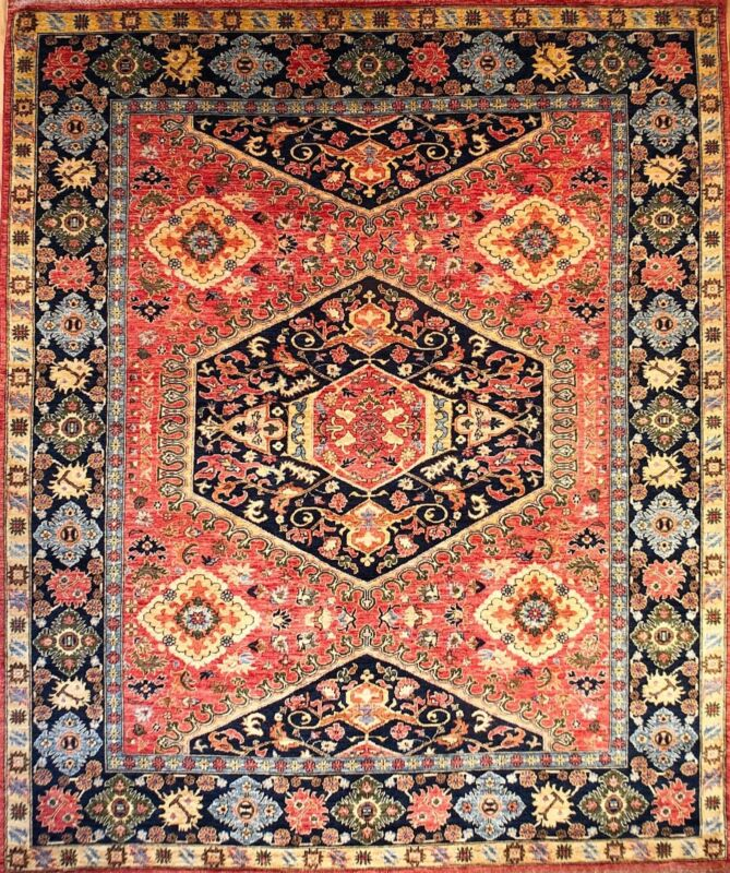 Hand-knotted Rug (Carpet) 8