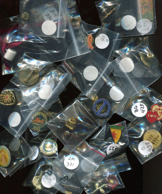 50+ LAPEL PINS/TIE TACS (C964) GREAT WHOLESALE ASSORTMENT -  CHECK  OUT LAST ONE