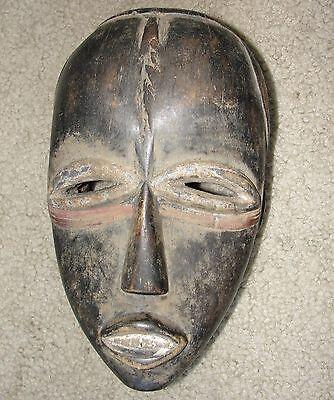 Fine Old Ancient African Dan Masque Mask Liberia / Baule Ivery Coast Africa Art