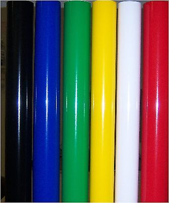 "NEW Vinyl kit - 6 rolls of Vinyl for Vinyl cutter plotter - 24""x 9' each  color"