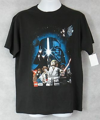 Lego Star Wars Boys T-Shirt New Black Distressed Officially Licensed Darth Vader New Boys Star Wars Lego