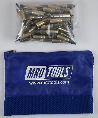 50 316 Heavy Duty Cleco Sheet Metal Fasteners W Mesh Carry Bag Khd2s50-316