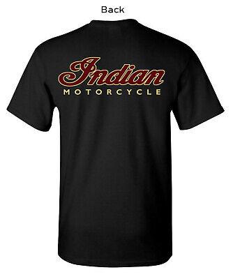 INDIAN MOTORCYCLE LOGO T-SHIRT  SHORT SLEEVE