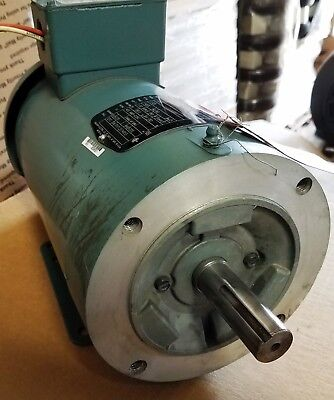 New Reliance 2 Hp 3 Phase Dual Shaft Motor 35w804p737g1
