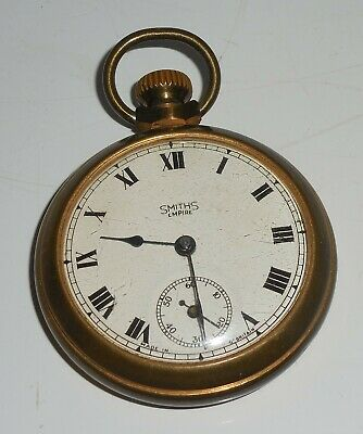 Vintage SMITHS Empire pocket watch working