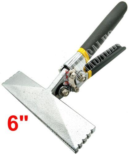 """6"""" Jaw Straight Sheet Metal Seamer Flatten & Bend Metal Seaming Plier Hand Tool"""