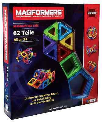 Magformers Set 62 Teile 274-09, topaktuelle deutsche Version, kein Reimport !