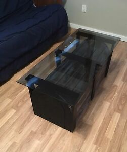 Unique coffee table with storage