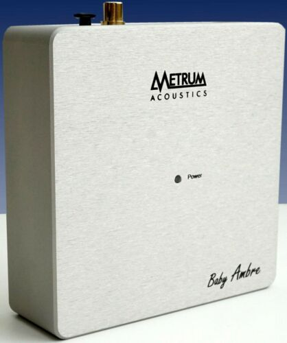 METRUM Acoustics BABY AMBRE ROON CERTIFIED Streamer AUTHORIZED-DEALER 100-240v