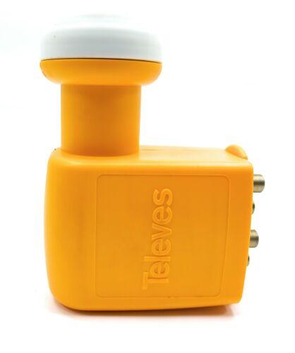 Televes 761001 QUAD LNB converter 4 out universal offset horn