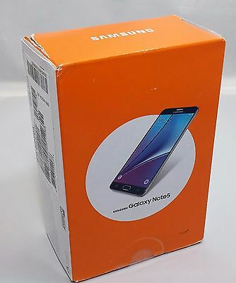 Samsung Galaxy Note 5 V SM-N920 32GB Black Sapphire AT&T Smartphone GSM Unlocked