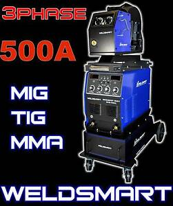 500AMP MIG GAS & GASLESS INVERTER WELDER SEPARATE FEEDER (3PHASE) Brisbane City Brisbane North West Preview