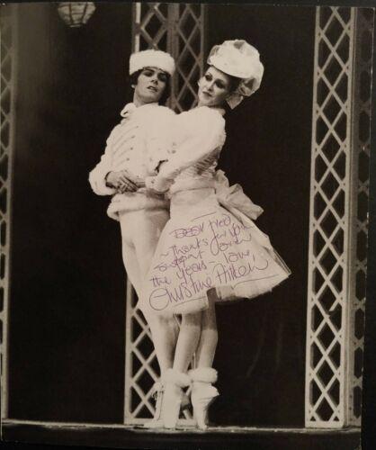 Signed Christine Aitken ballet ballerina photo UK Royal Ballet by A. Crickmay