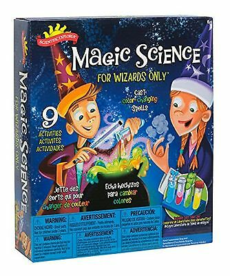 Magic Science Kit For Wizards Only Scientific Explorer Educational Teaching Kids