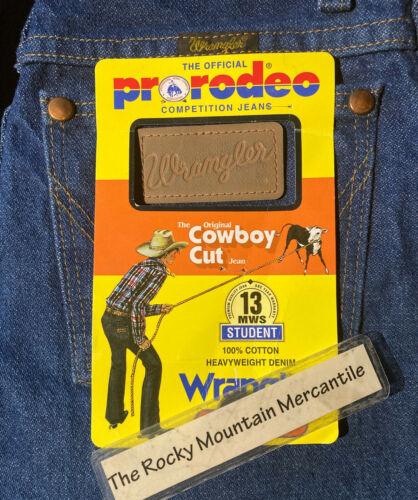 Wrangler Cowboy Cut Original Fit Jean Students 13MWZ 13MWSPI GIRLS BOYS 25 x 34