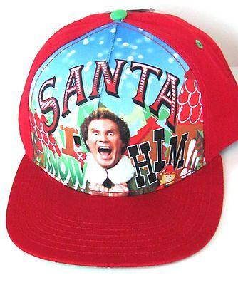 ELF Movie Baseball Cap Hat BUDDY