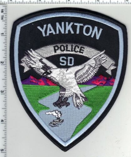 Yankton Police (South Dakota) 3rd Issue Shoulder Patch