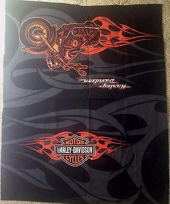 Harley Davidson Fabric Shield/Motor Cycle